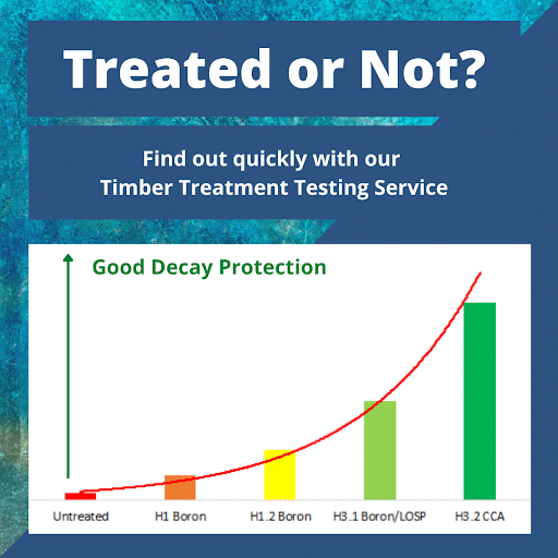 Timber Treatment Testing for owne or Property Mangers